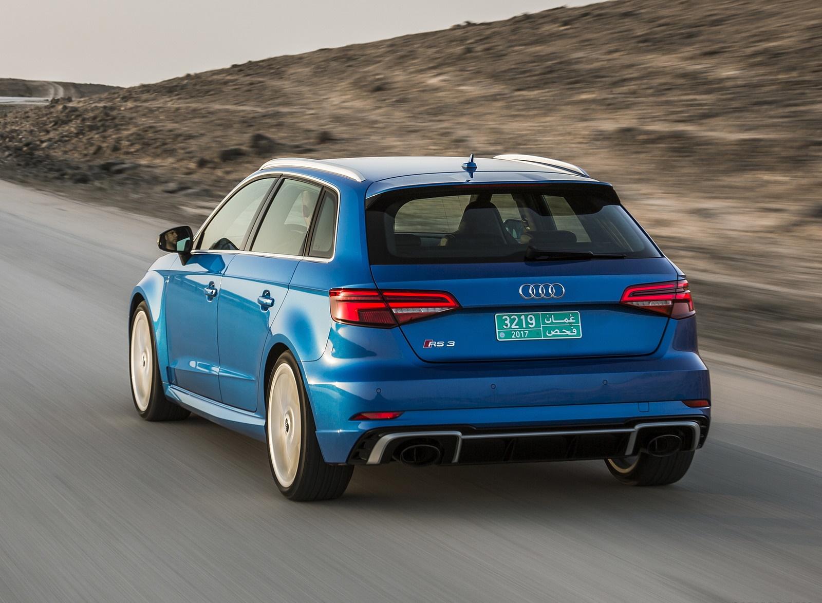 2018 Audi Rs 3 Sportback Color Mystic Blue Rear Wallpapers 38