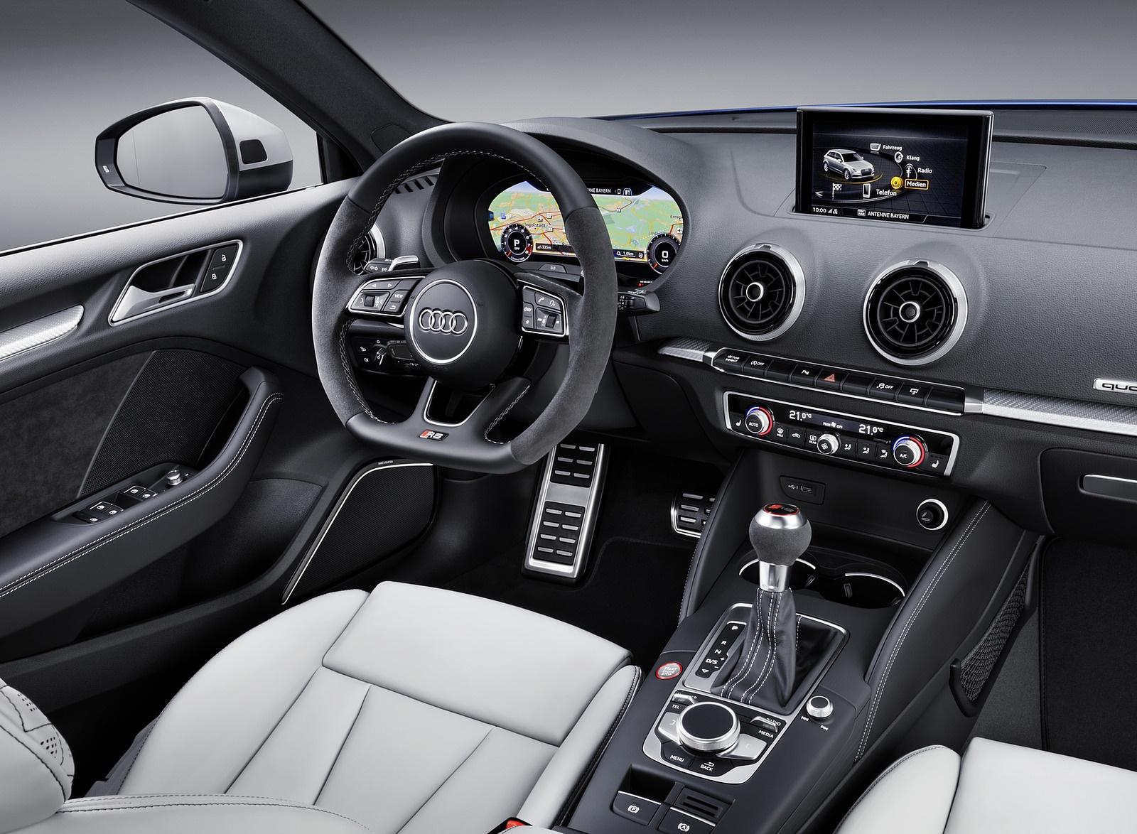2018 Audi RS 3 Sportback Interior Wallpaper (14)