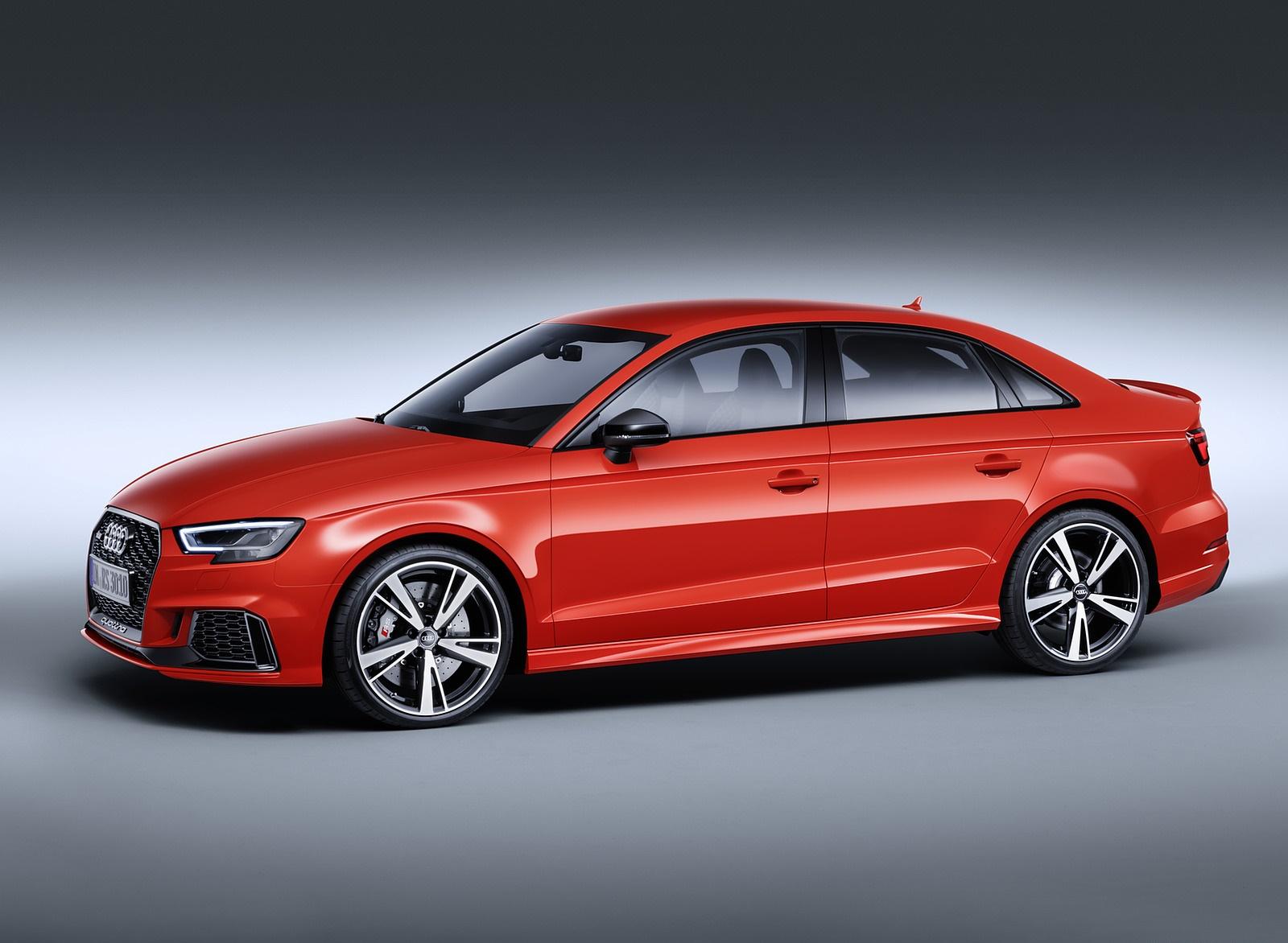 2018 Audi RS3 Sedan (Color: Catalunya Red) Front Three-Quarter Wallpapers (10)