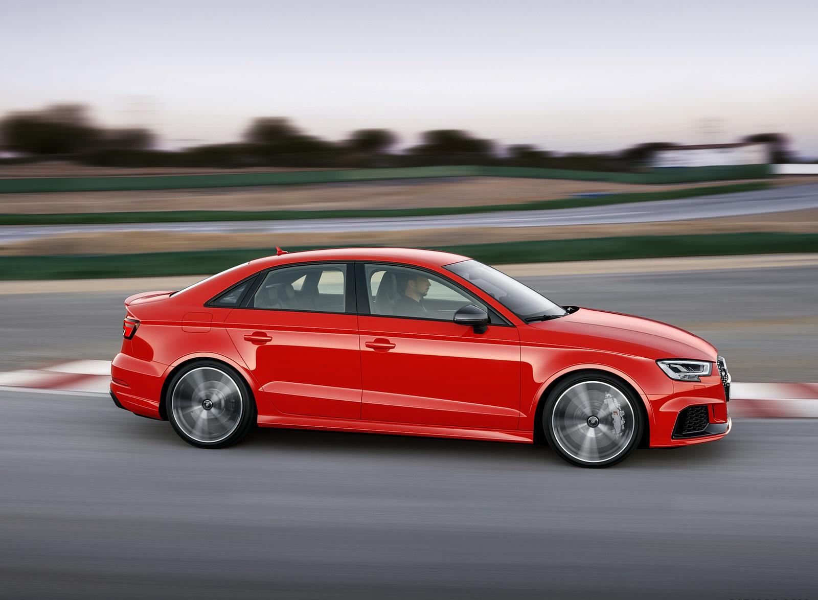 2018 Audi RS3 Sedan (Color: Catalunya Red) Side Wallpapers (5)