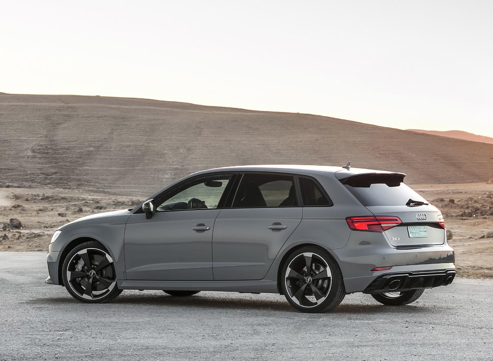 2018 Audi RS3 Sportback (Color: Nardo Grey) Rear Three