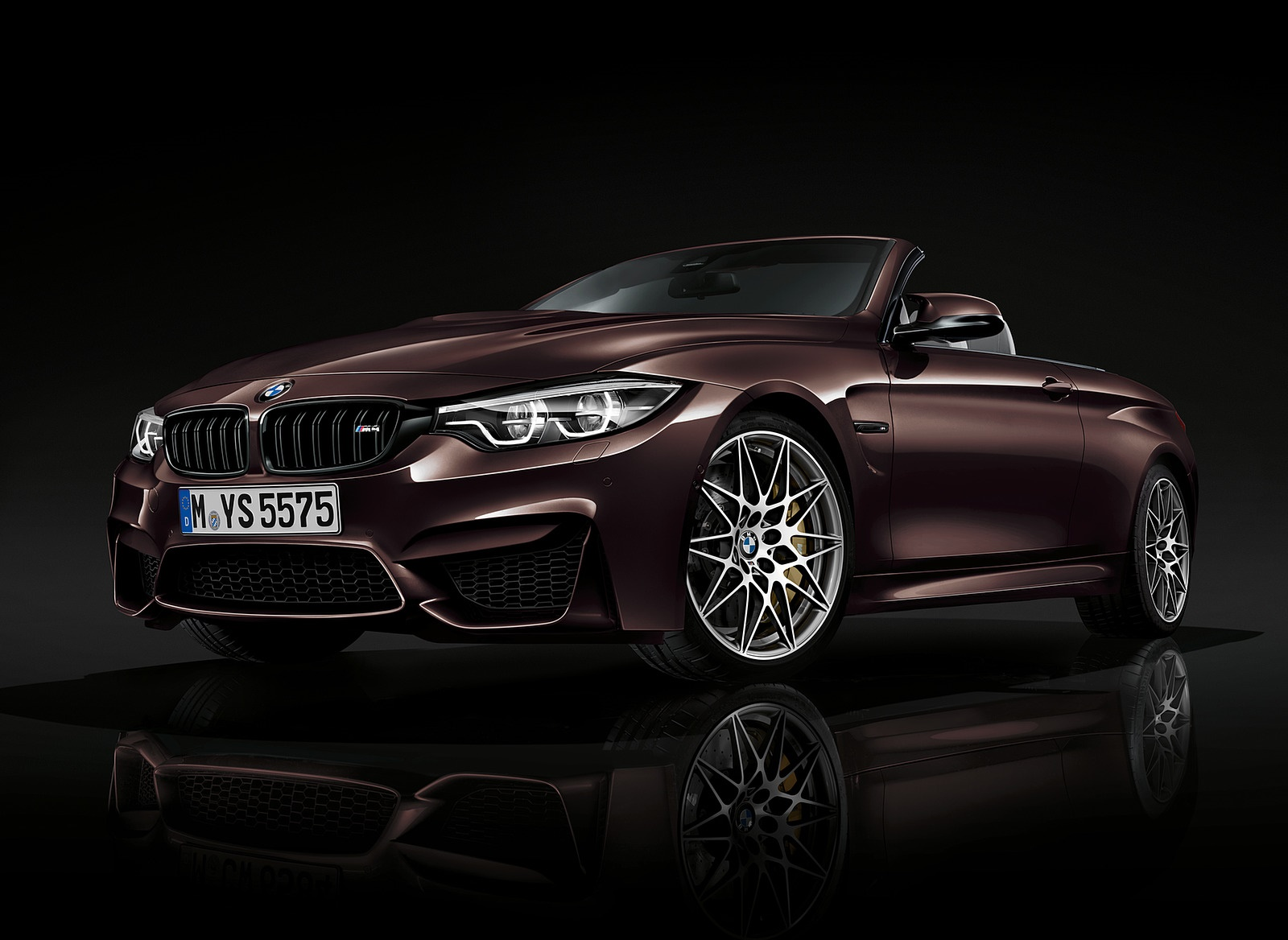 2018 BMW M4 Convertible Front Three-Quarter Wallpapers (8)