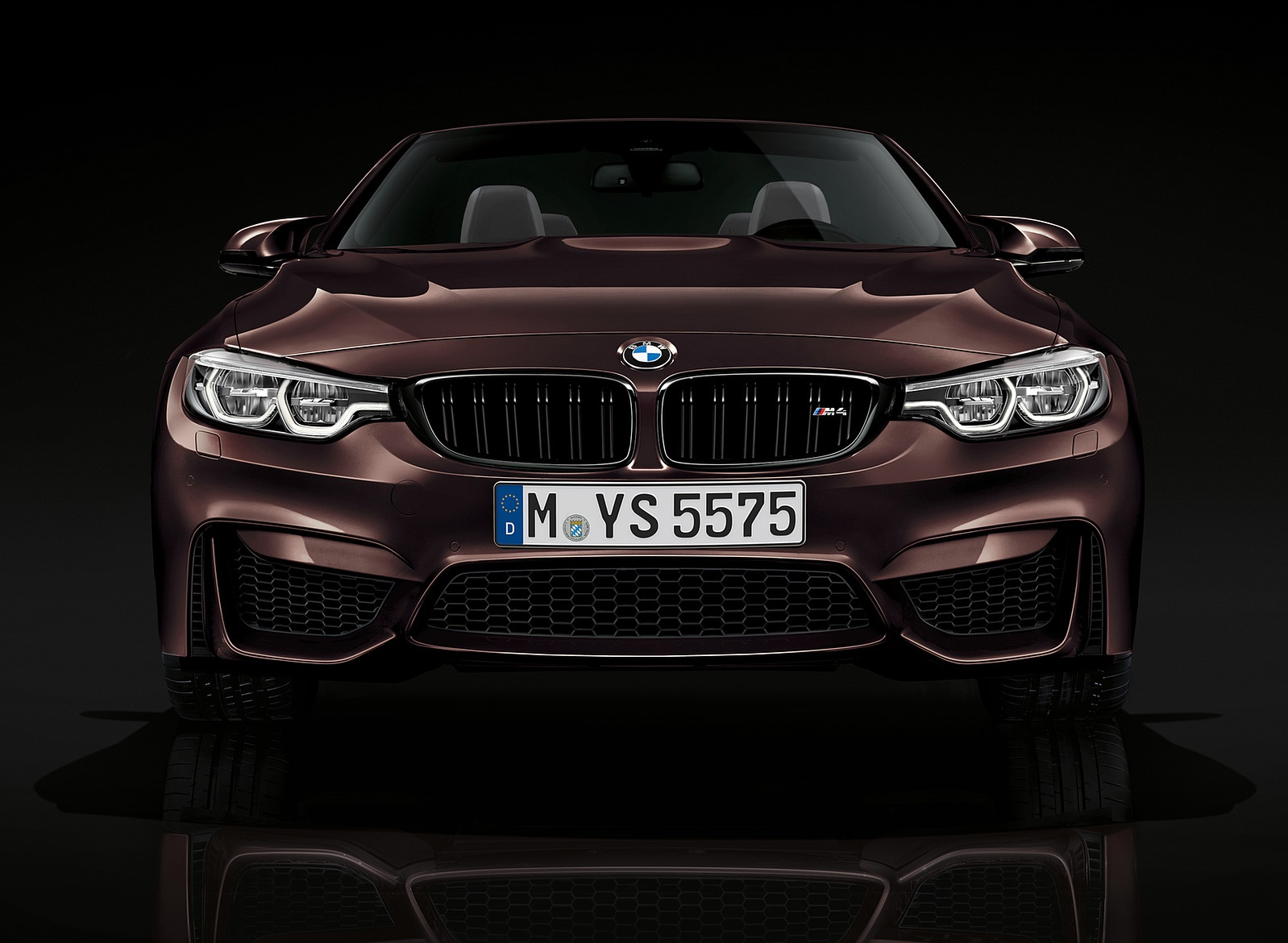 2018 BMW M4 Convertible Front Wallpapers (9)