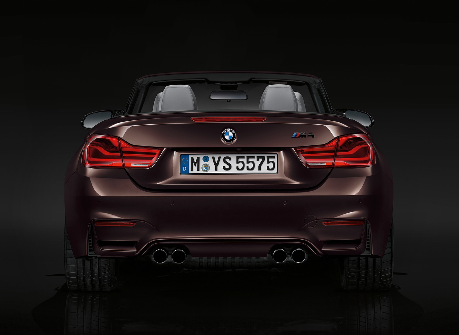 2018 BMW M4 Convertible Rear Wallpapers (10)