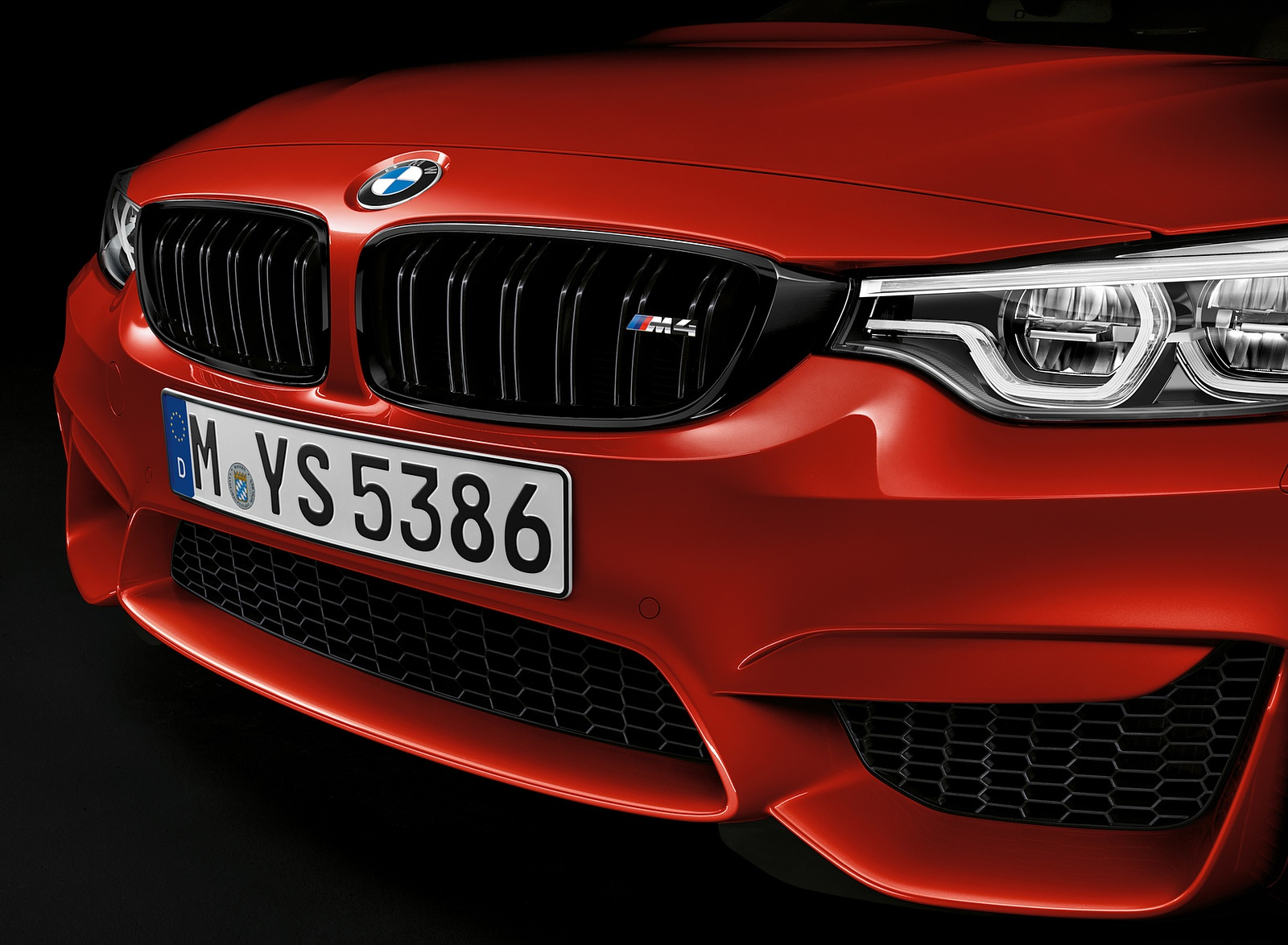 2018 BMW M4 Coupe Front Bumper Wallpapers (6)