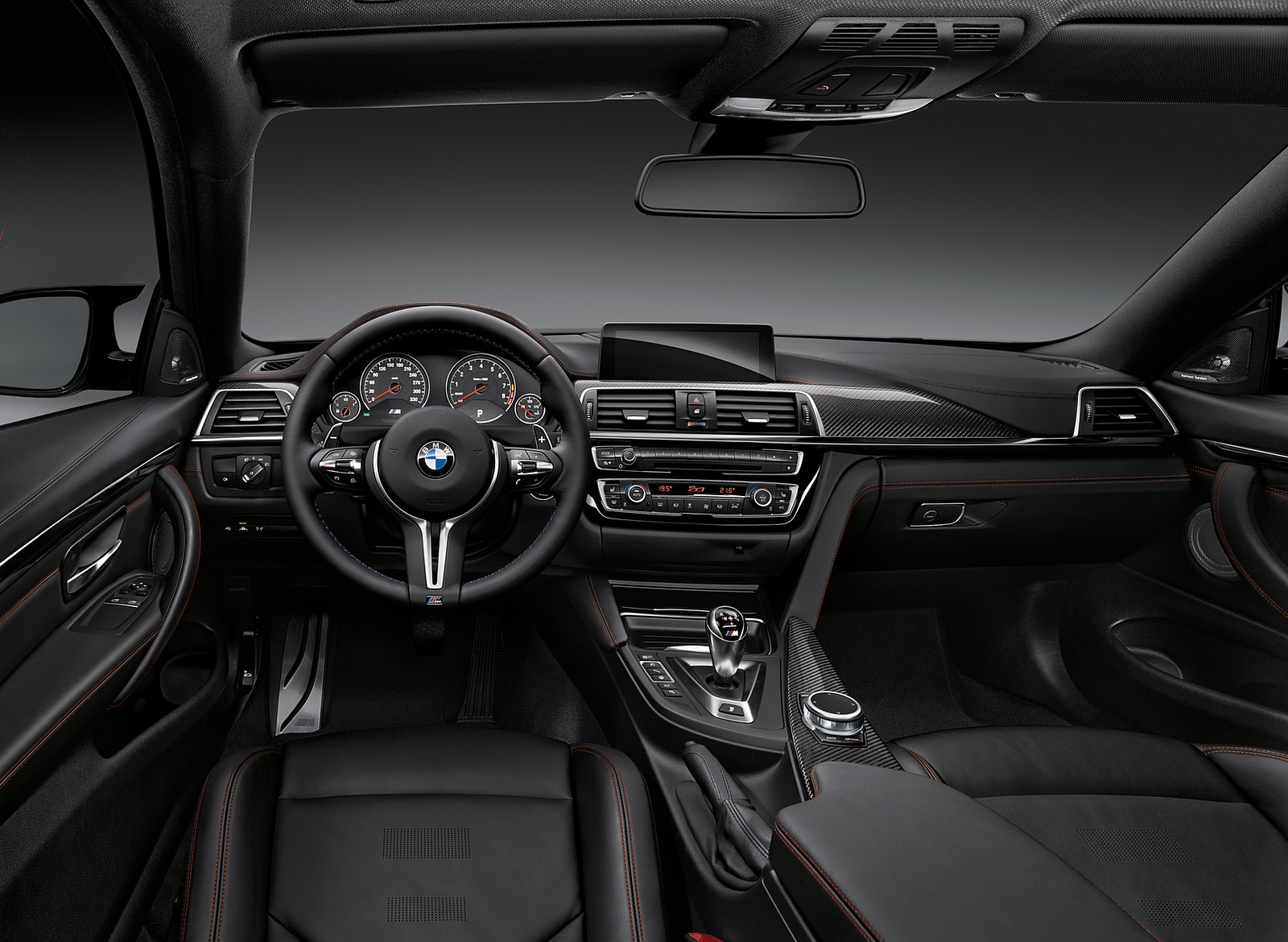 2018 BMW M4 Coupe Interior Cockpit Wallpapers (14)