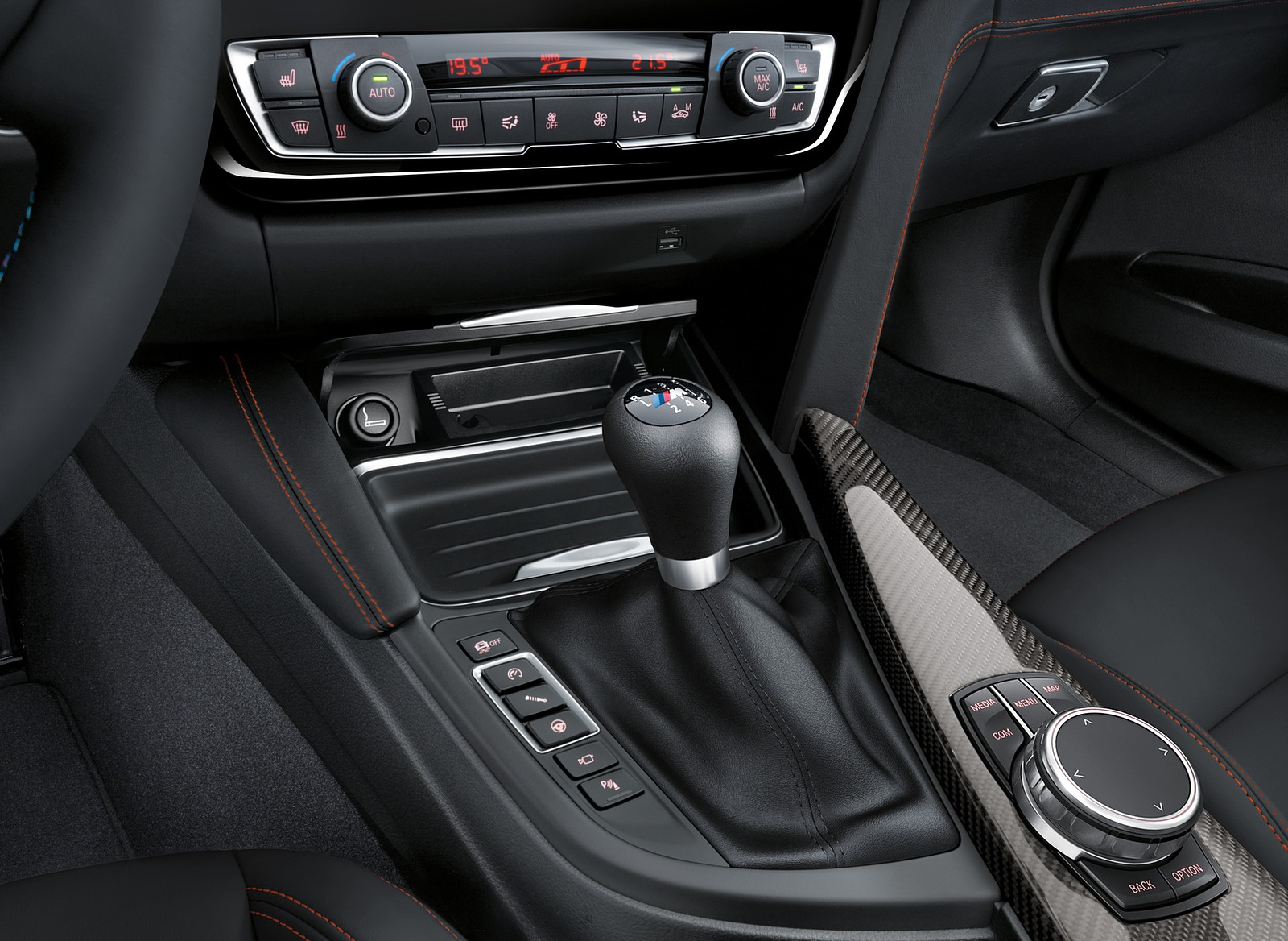 2018 BMW M4 Coupe Interior Detail Wallpapers (13)