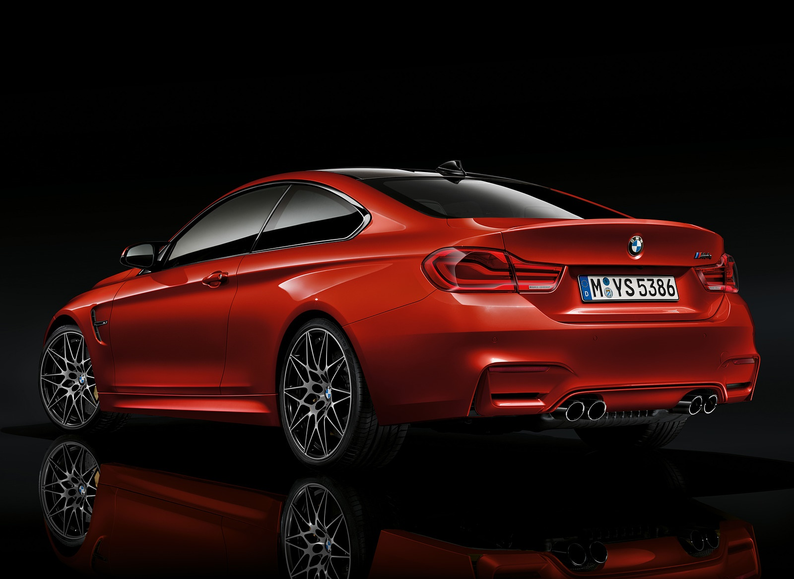 2018 BMW M4 Coupe Rear Three-Quarter Wallpapers (4)