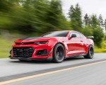 2018 Chevrolet Camaro ZL1 1LE Front Three-Quarter Wallpapers 150x120 (4)