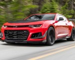 2018 Chevrolet Camaro ZL1 1LE Front Three-Quarter Wallpapers 150x120 (5)