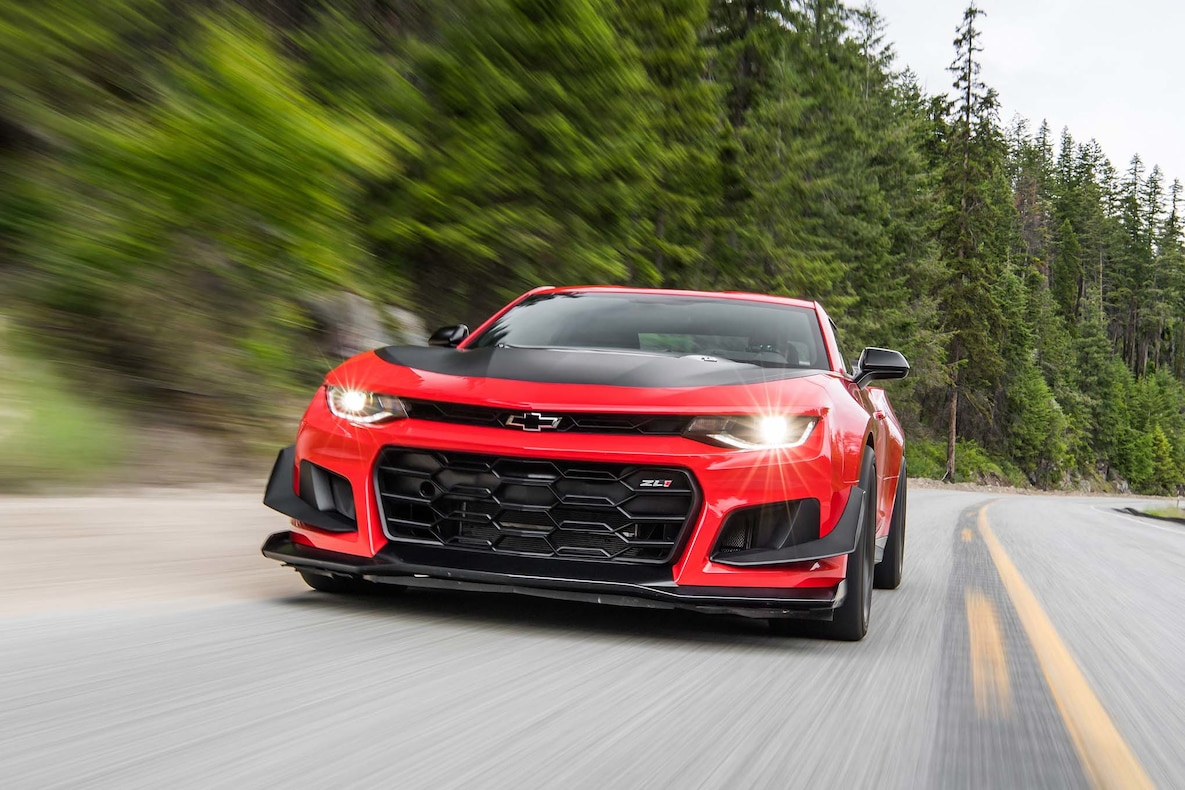 2018 Chevrolet Camaro ZL1 1LE Front Wallpapers (1)