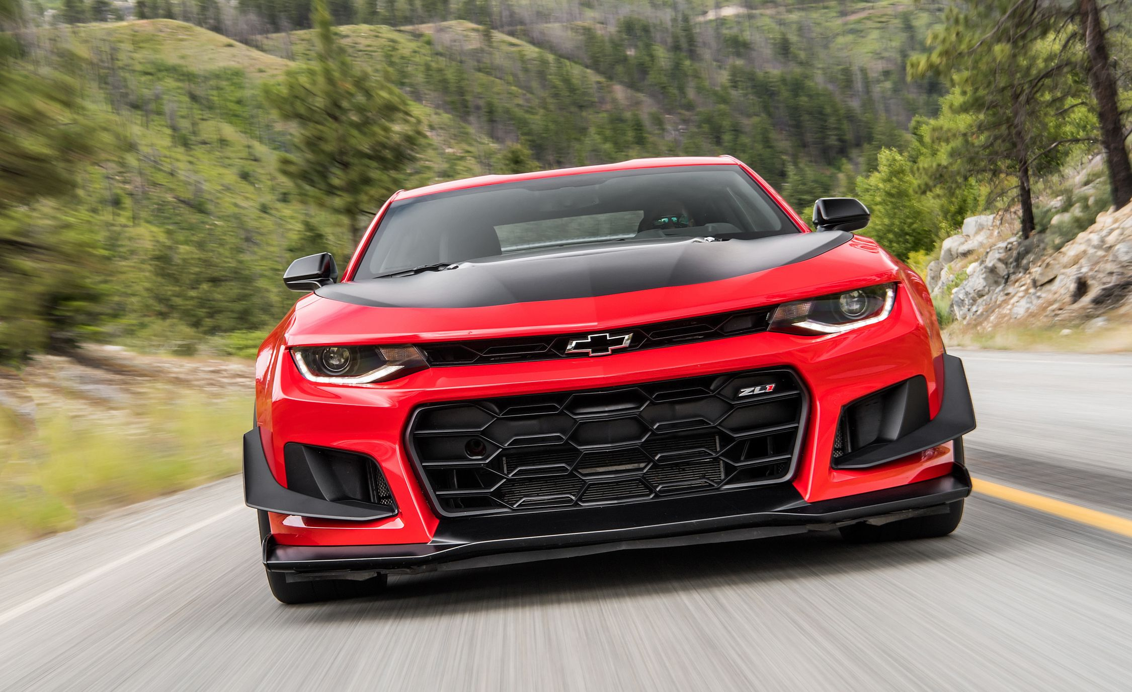 2018 Chevrolet Camaro ZL1 1LE Front Wallpapers (2)