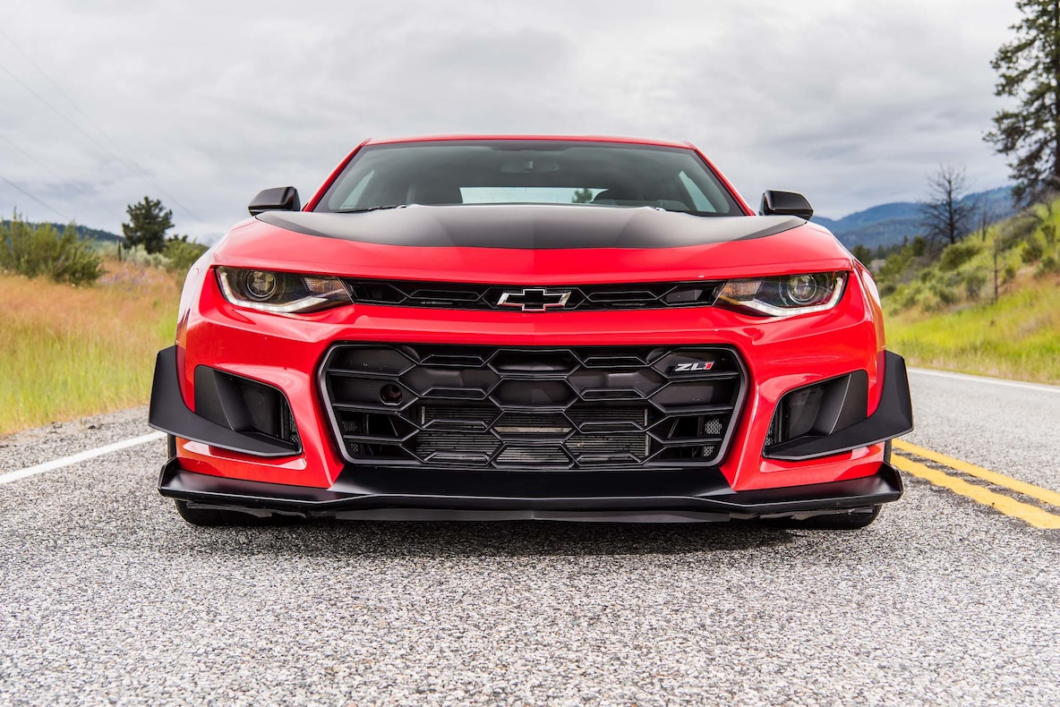 2018 Chevrolet Camaro ZL1 1LE Front Wallpapers (6)