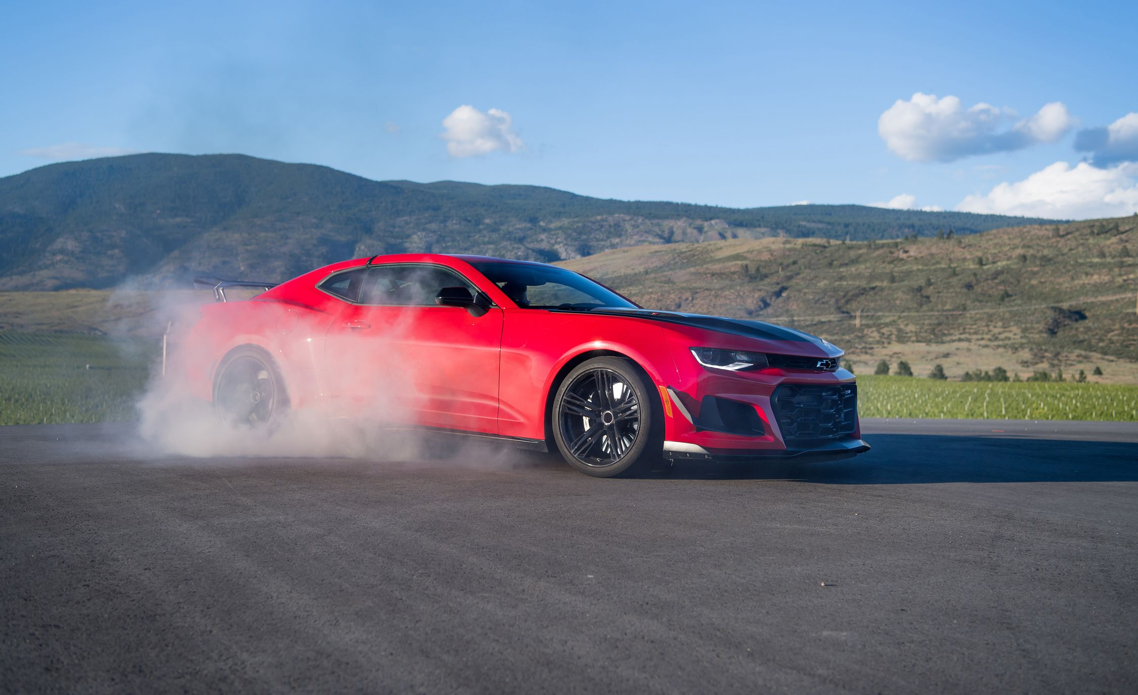 2018 Chevrolet Camaro ZL1 1LE Side Wallpapers (9)