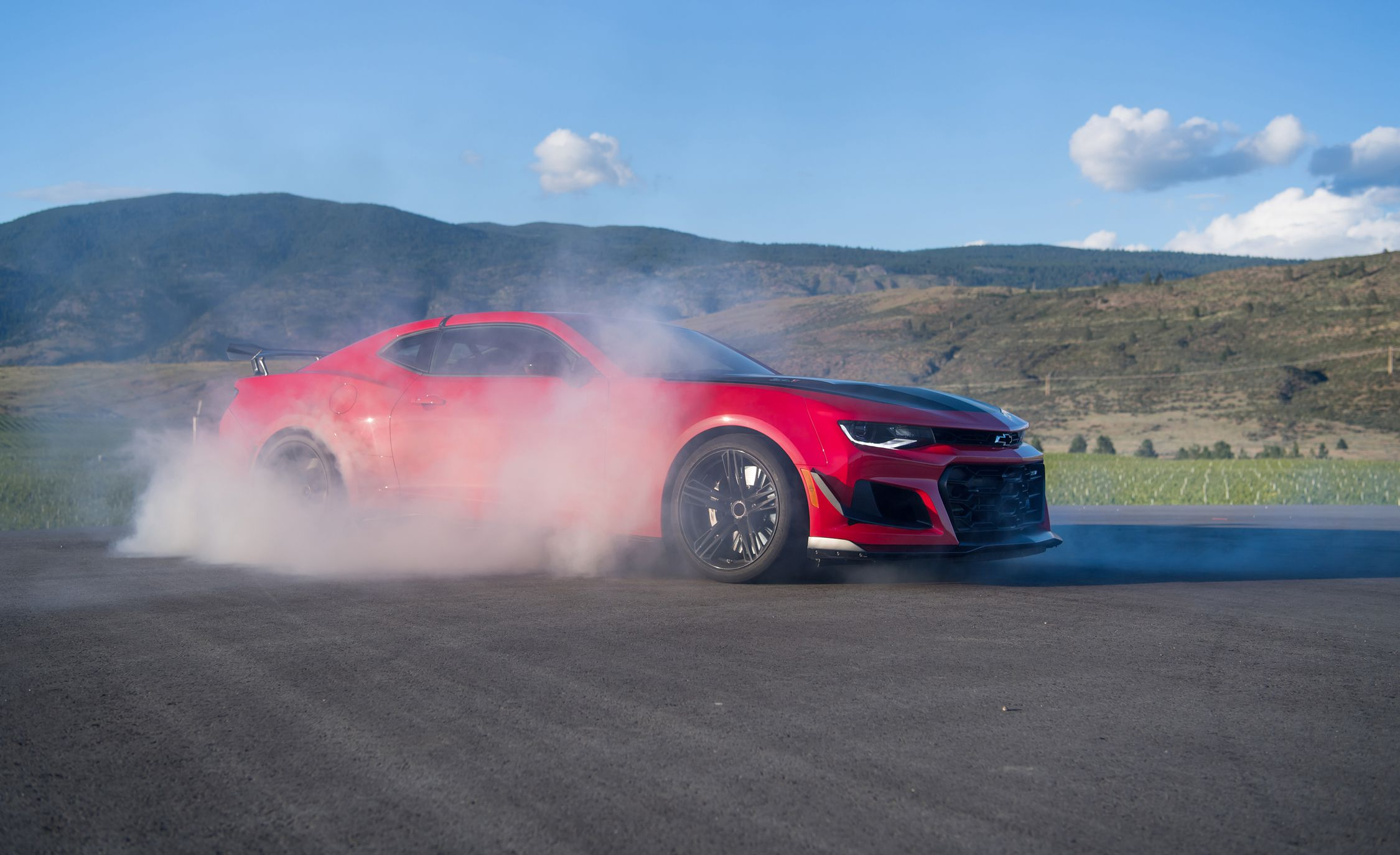 2018 Chevrolet Camaro ZL1 1LE Side Wallpapers (8)