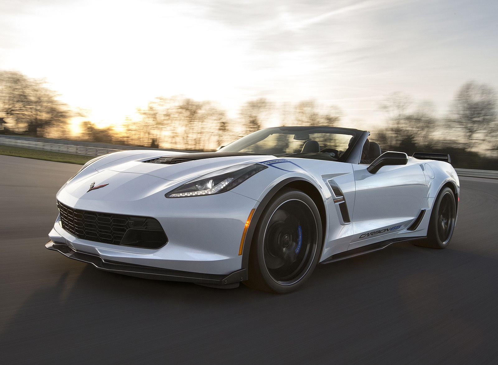 2018 Chevrolet Corvette Carbon 65 Edition Grand Sport 3LT Convertible Front Three-Quarter Wallpapers (2)