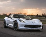 2018 Chevrolet Corvette Carbon 65 Edition Z06 3LZ Coupe Front Three-Quarter Wallpapers 150x120 (1)