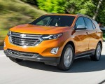 2018 Chevrolet Equinox 1.5T Premier Front Three-Quarter Wallpapers 150x120 (45)