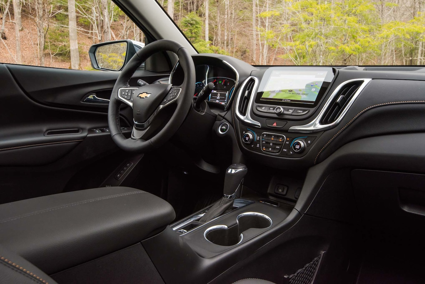 2018 Chevrolet Equinox Interior Cockpit Wallpaper (13)