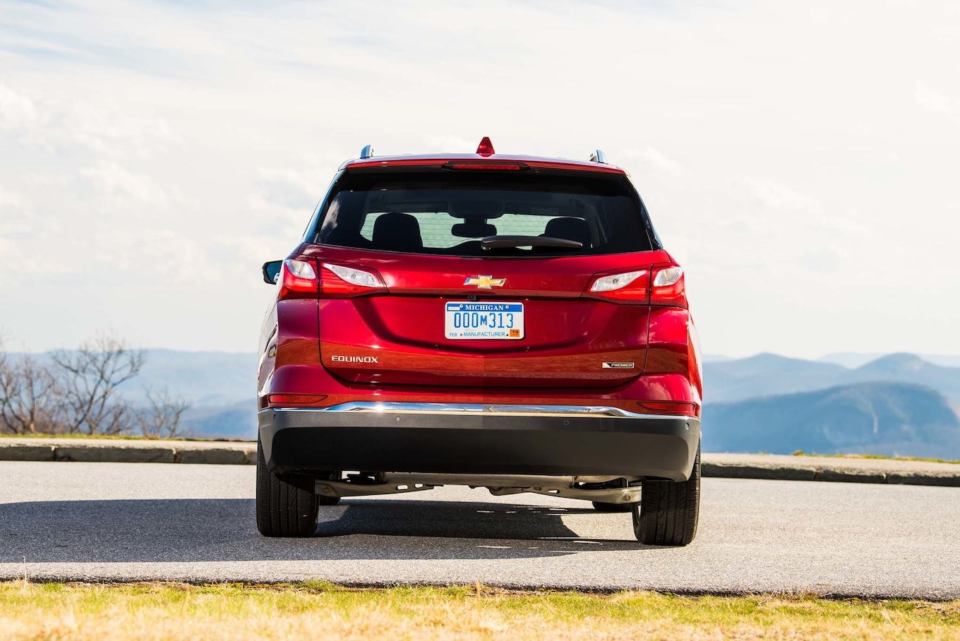 2018 Chevrolet Equinox Rear Wallpaper (9)