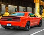 2018 Dodge Challenger SRT Hellcat Widebody (Color: Go Mango) Rear Three-Quarter Wallpapers 150x120 (44)
