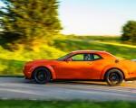 2018 Dodge Challenger SRT Hellcat Widebody (Color: Go Mango) Side Wallpapers 150x120 (45)