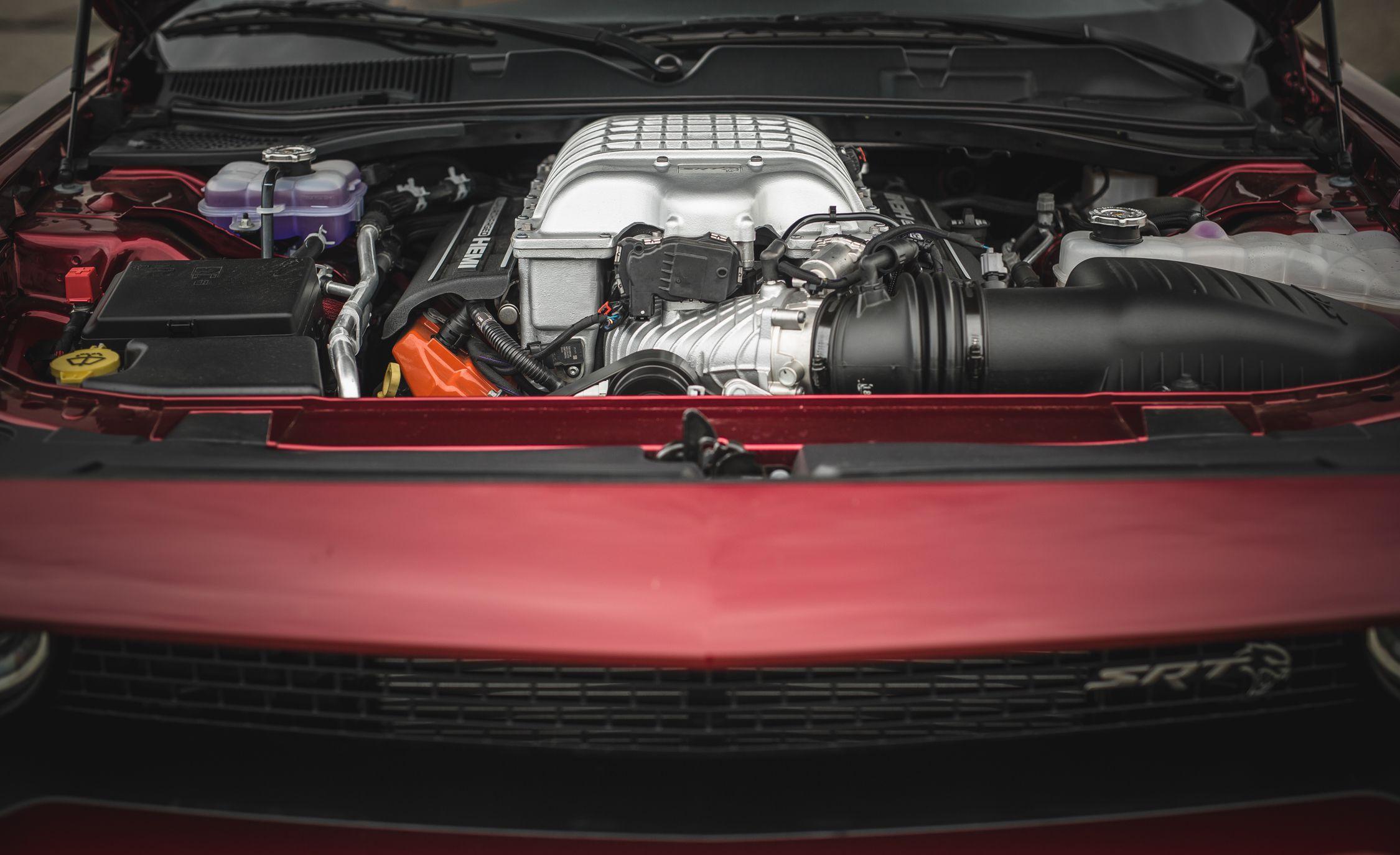 2018 Dodge Challenger Srt Hellcat Widebody Color Octane Red