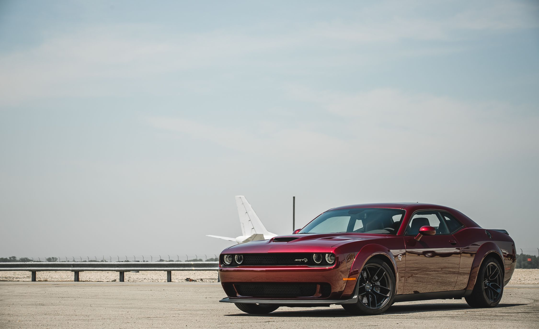 2018 Dodge Challenger SRT Hellcat Widebody (Color: Octane Red) Front Three-Quarter Wallpapers (13)
