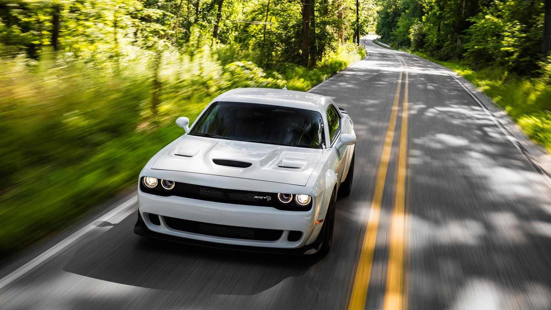 2018 Dodge Challenger Srt Hellcat Widebody Color White