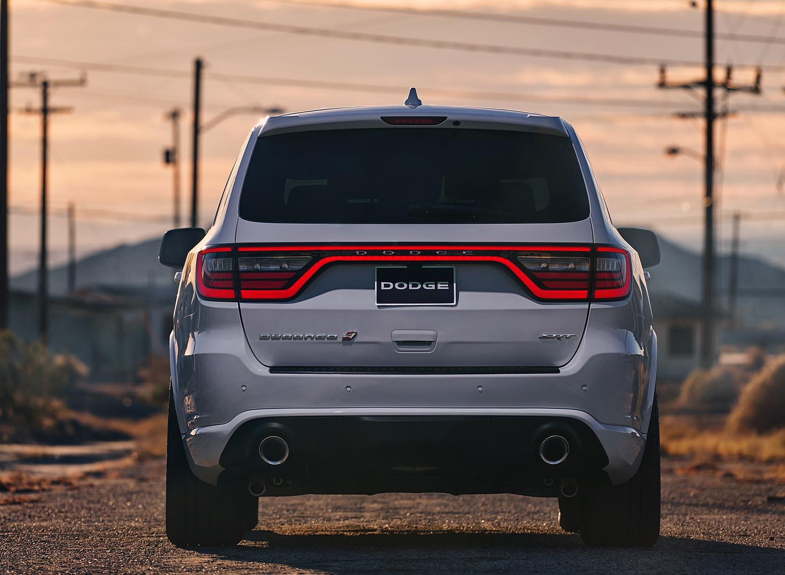 2018 Dodge Durango SRT Rear Wallpaper (13)