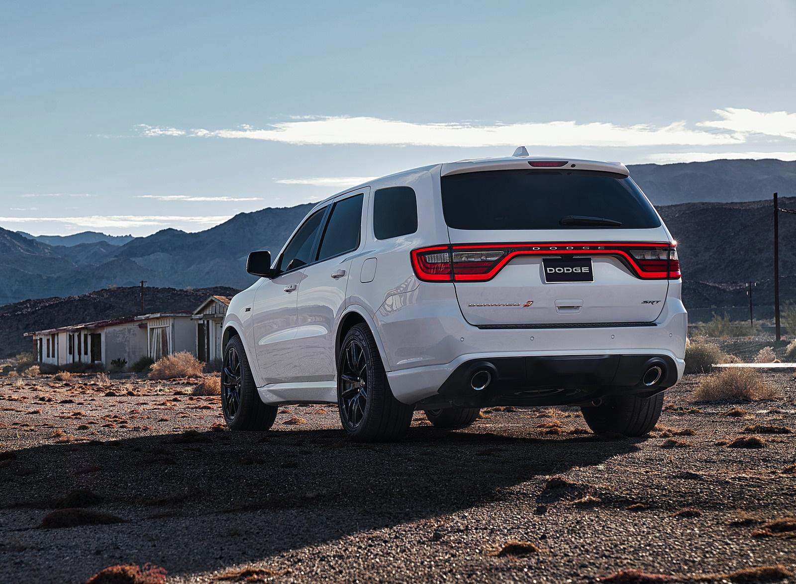2018 Dodge Durango SRT Rear Wallpapers (6)