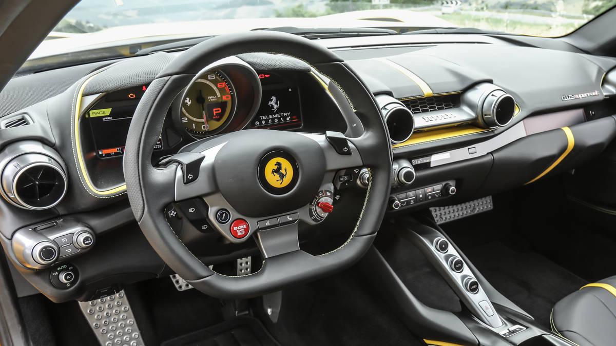 2018 Ferrari 812 Superfast Interior Cockpit Wallpapers 52 Newcarcars