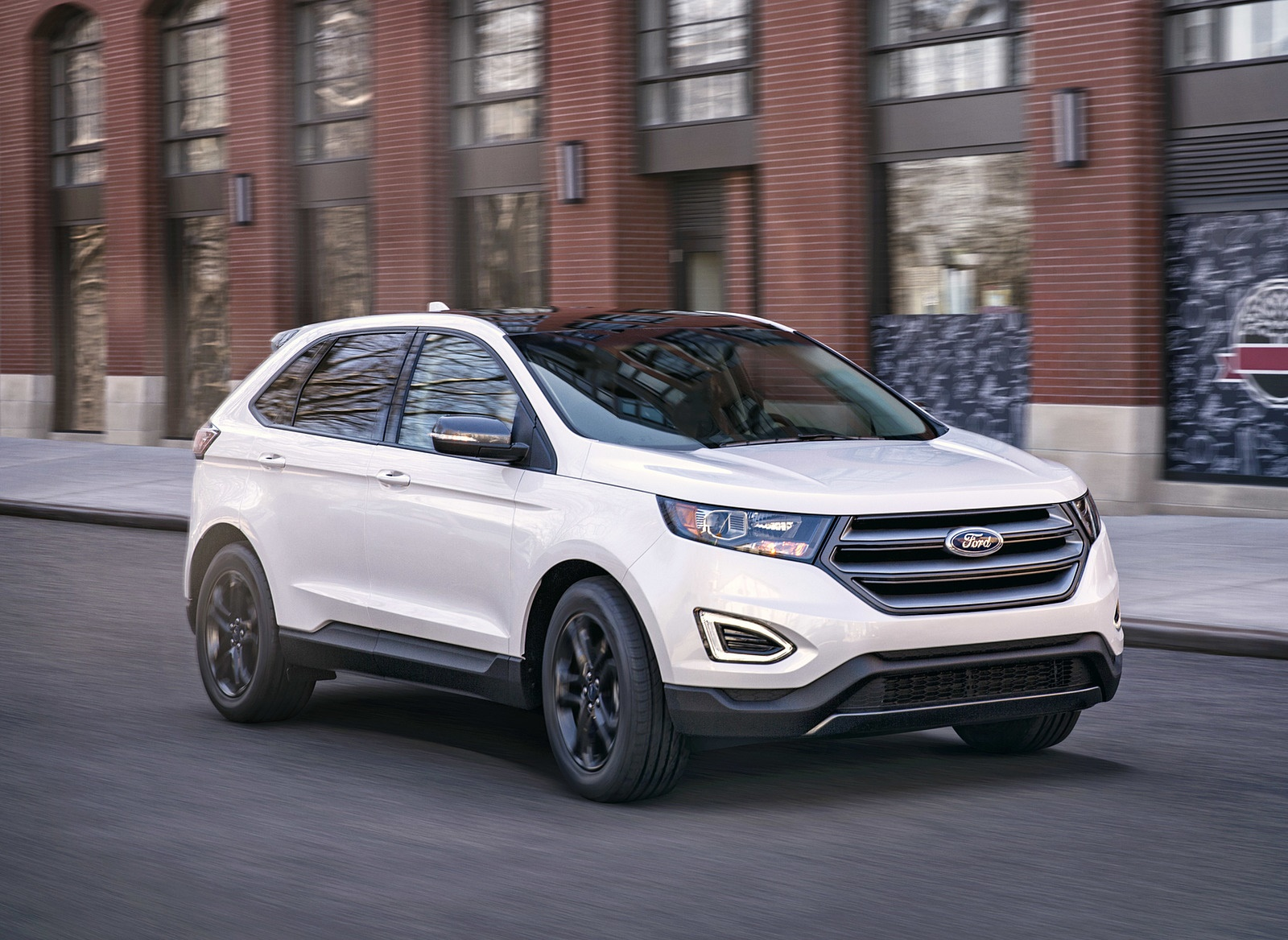 2018 Ford Edge SEL Sport Appearance Package Front Three-Quarter Wallpapers (5)