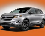 2018 Ford Edge SEL Sport Appearance Package Front Three-Quarter Wallpapers 150x120 (19)