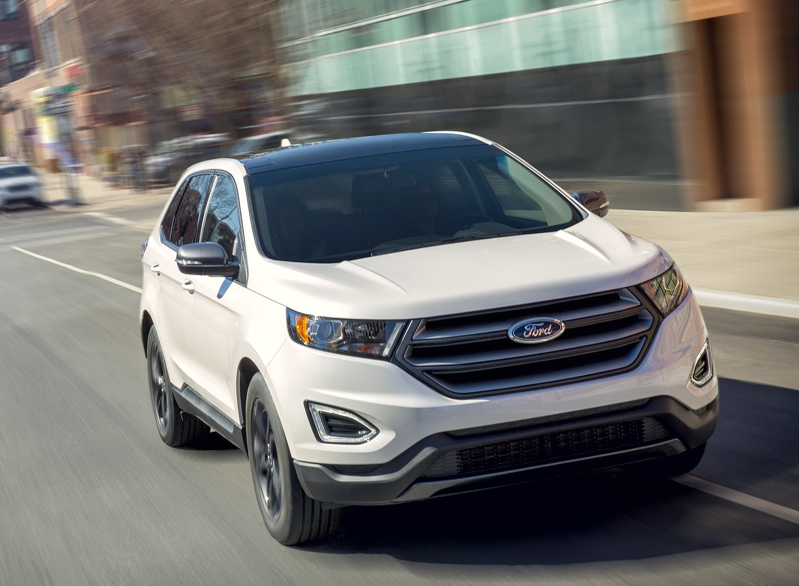 2018 Ford Edge SEL Sport Appearance Package Front Three-Quarter Wallpapers (3)
