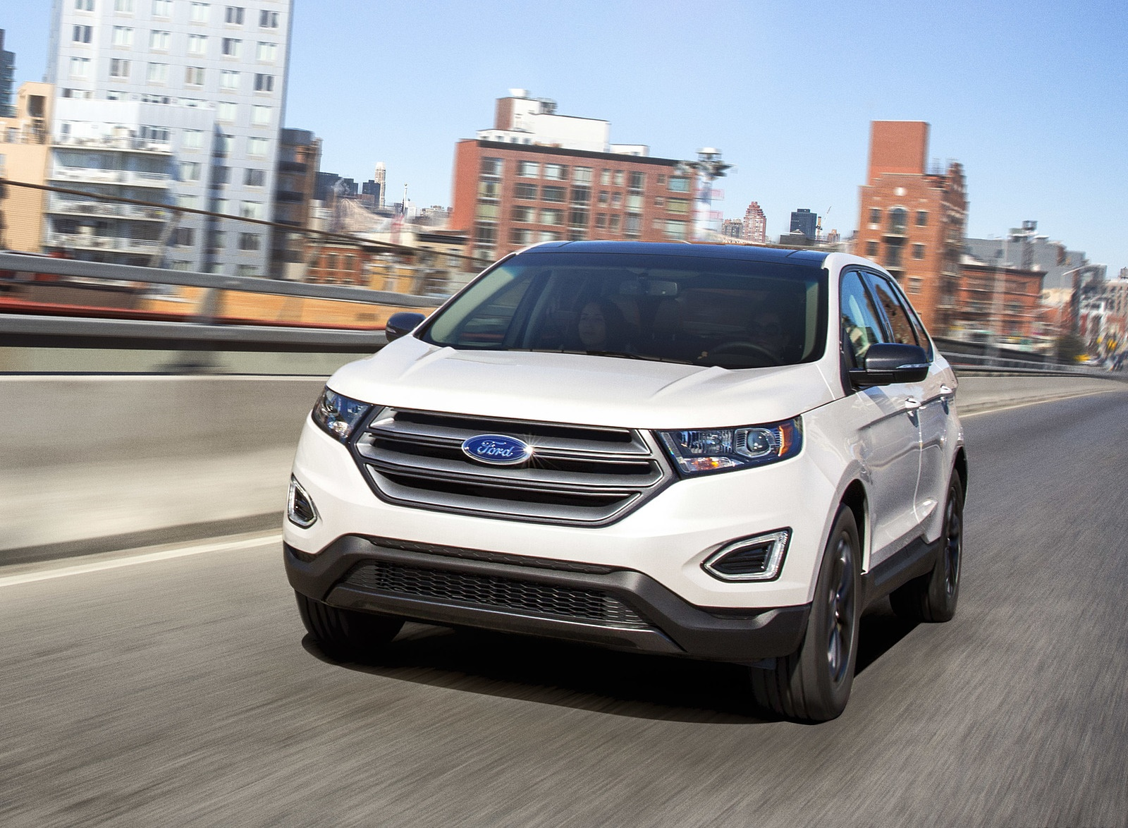 2018 Ford Edge SEL Sport Appearance Package Front Wallpapers (1)