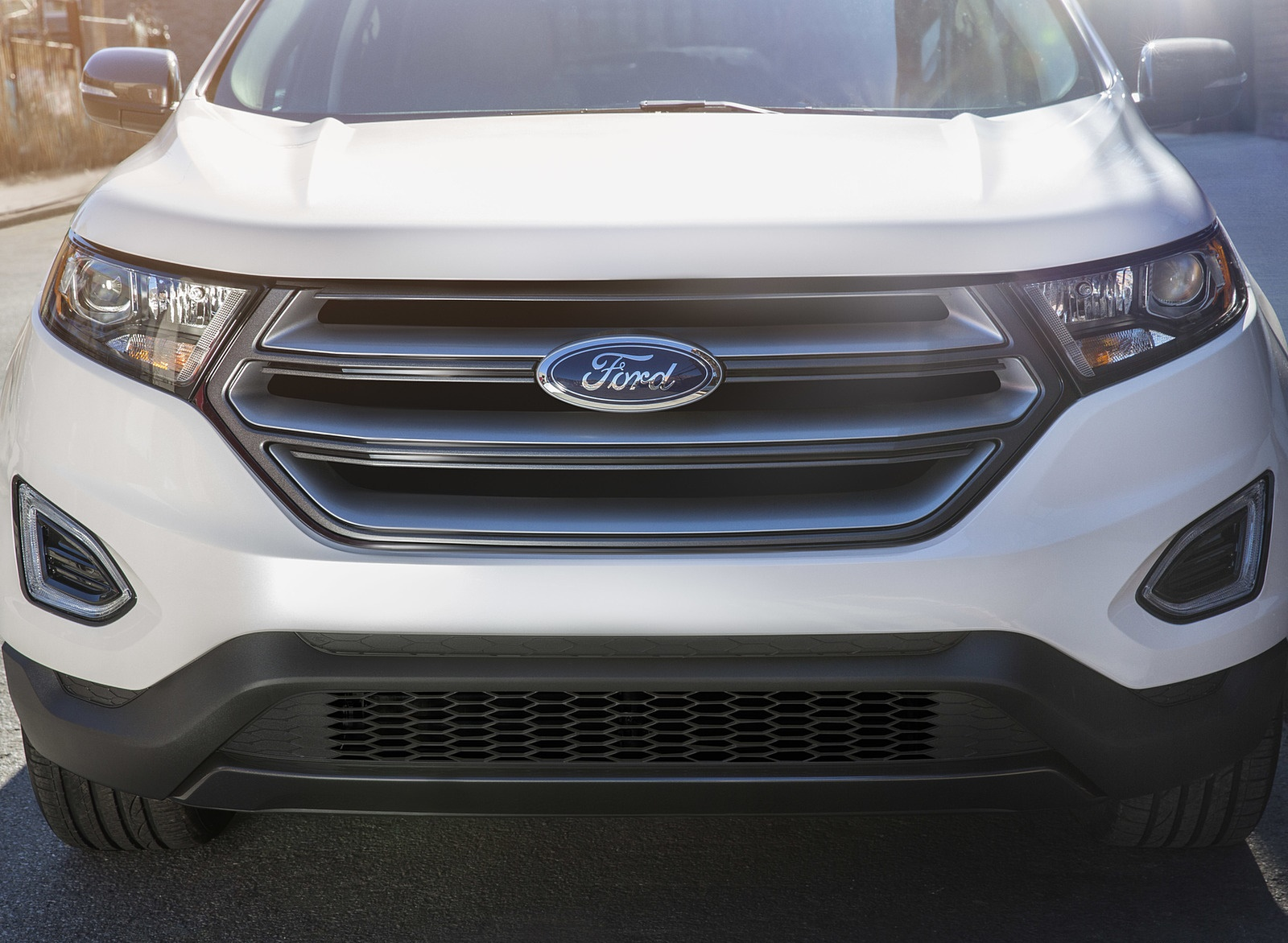 2018 Ford Edge SEL Sport Appearance Package Grill Wallpapers (7)