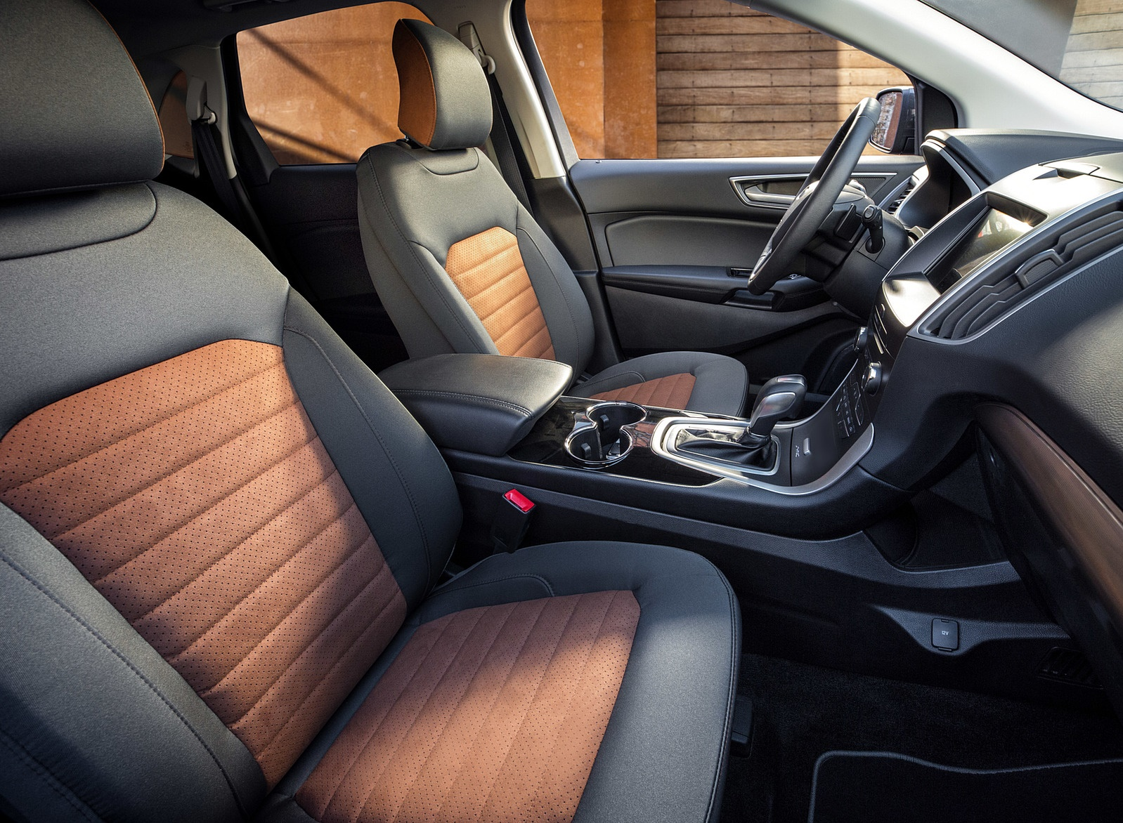 2018 Ford Edge SEL Sport Appearance Package Interior Seats Wallpaper (11)