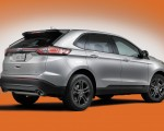 2018 Ford Edge SEL Sport Appearance Package Rear Three-Quarter Wallpapers 150x120 (18)
