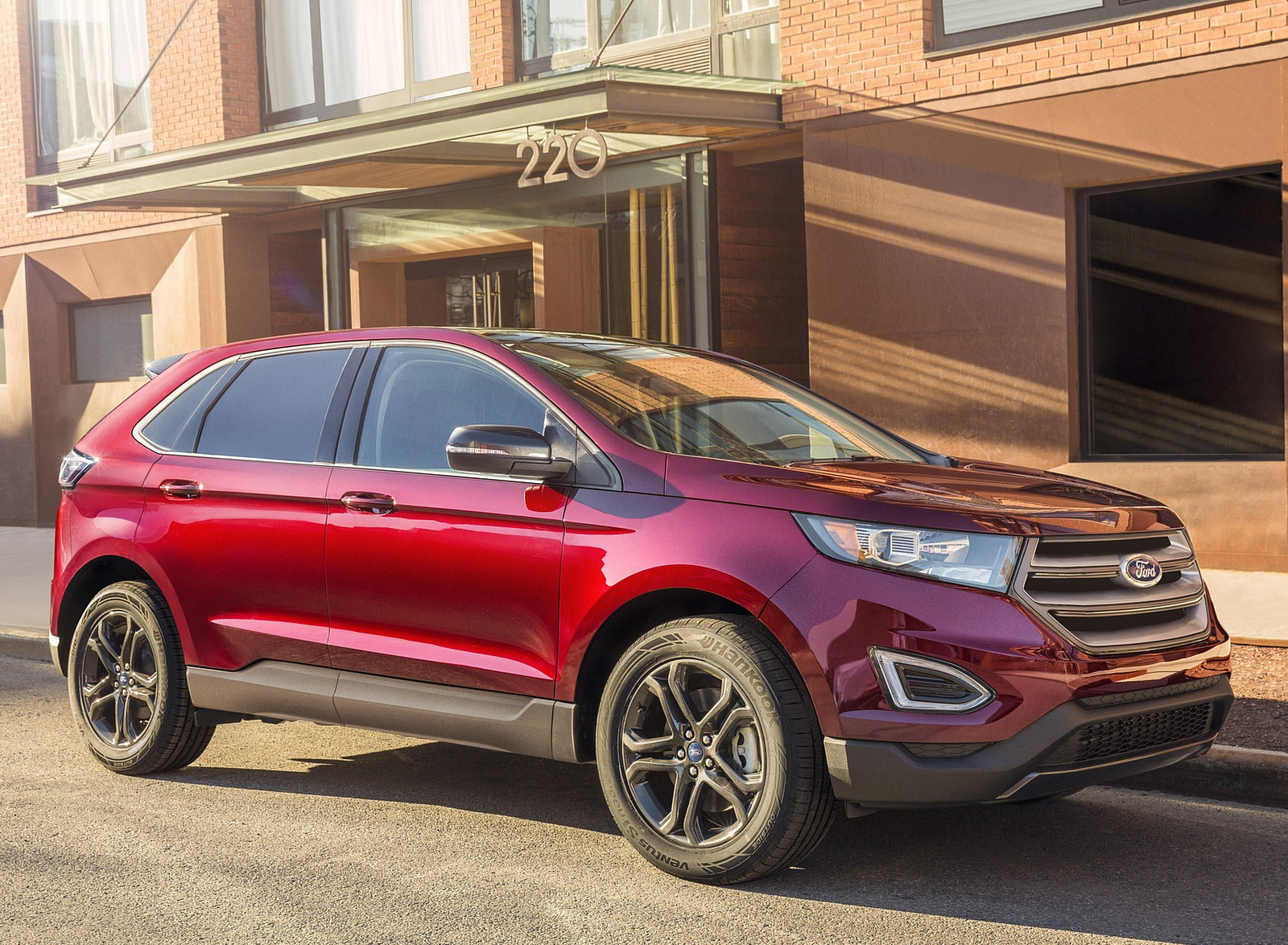 2018 Ford Edge SEL Sport Appearance Package Side Wallpapers (10)