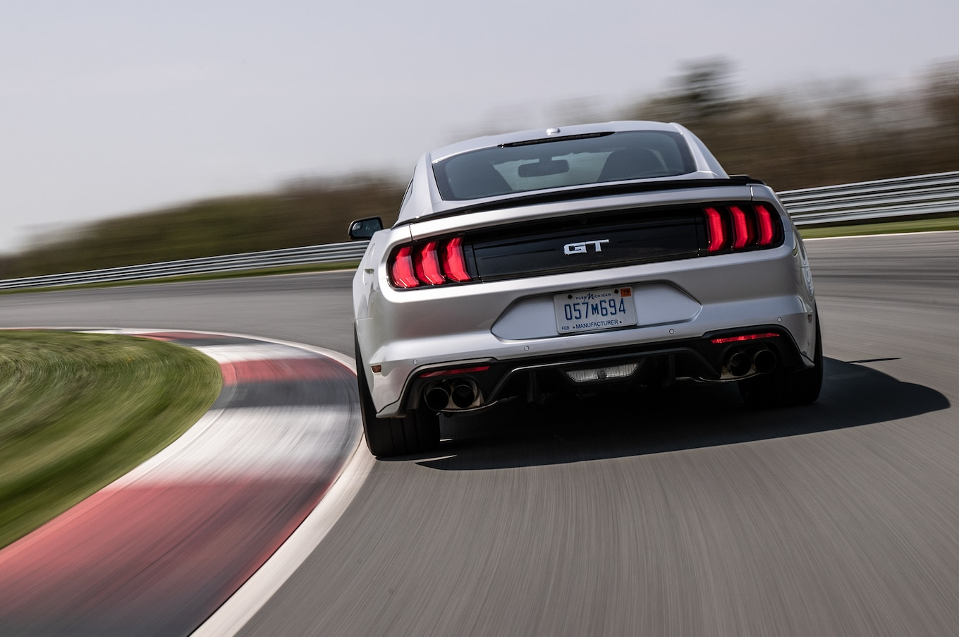 2018 Ford Mustang GT Performance Pack 2 Rear Wallpaper