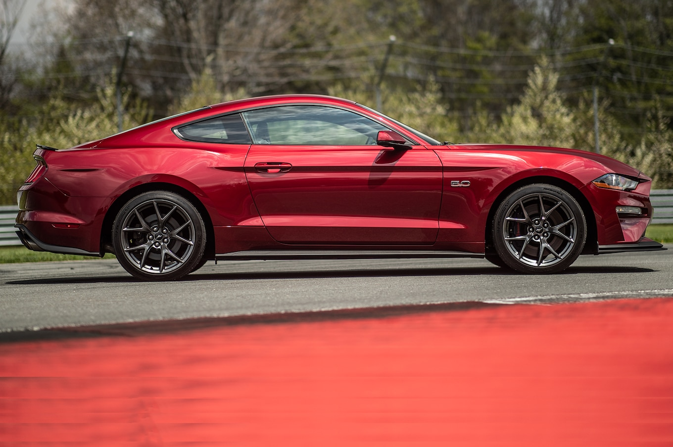 2018 ford mustang gt performance pack 2 side wallpaper