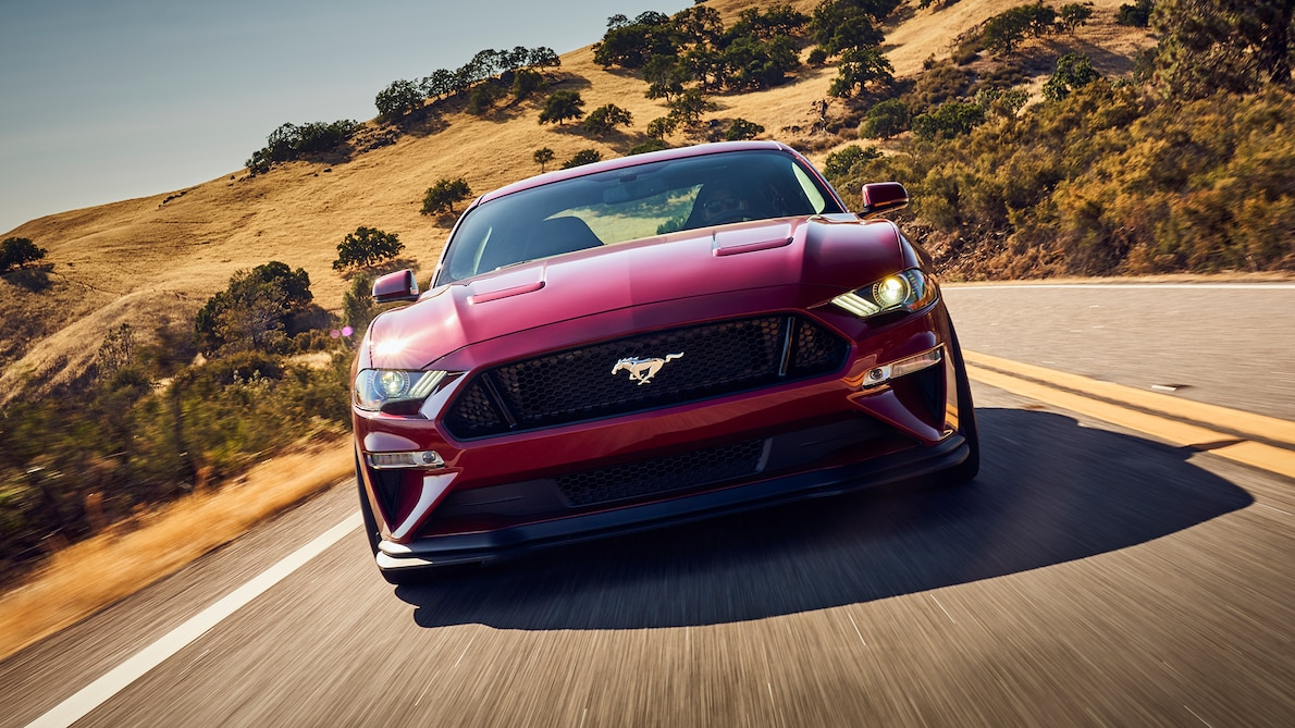 2018 Ford Mustang GT Performance Pack Level 2 Front Wallpaper (4)