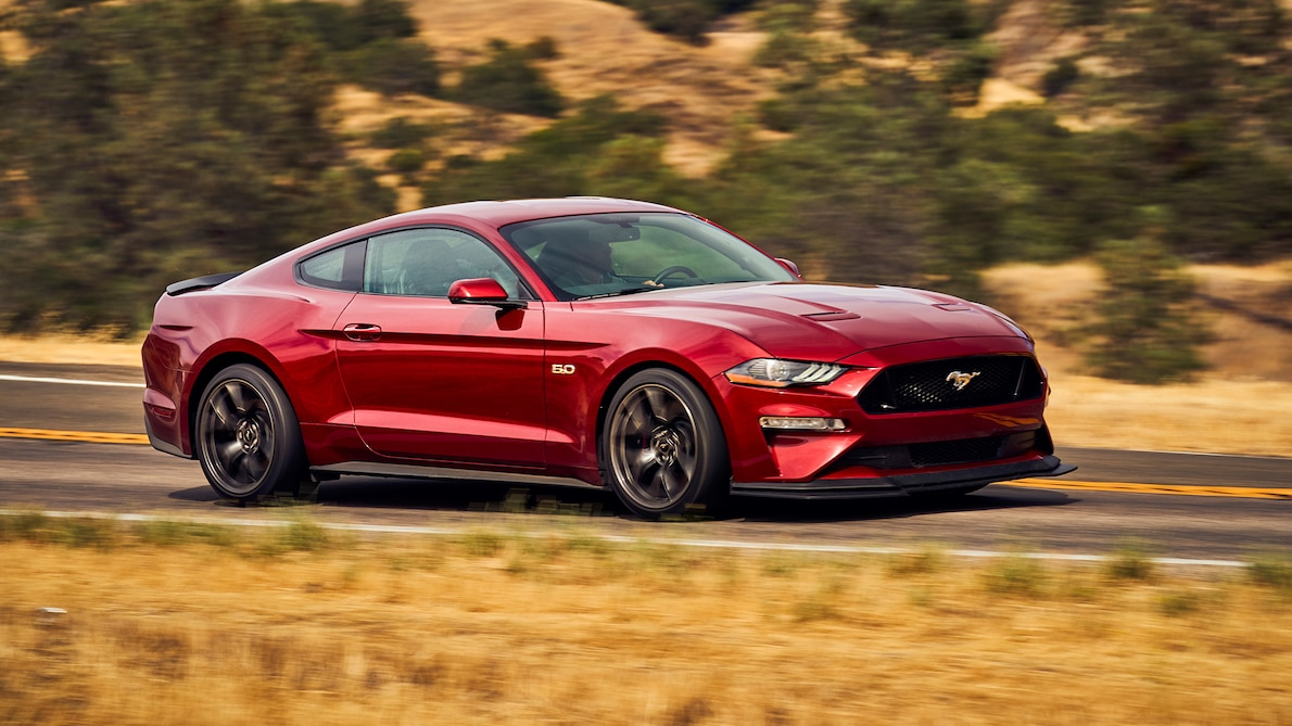 2018 Ford Mustang GT Performance Pack Level 2 Front Wallpaper (6)