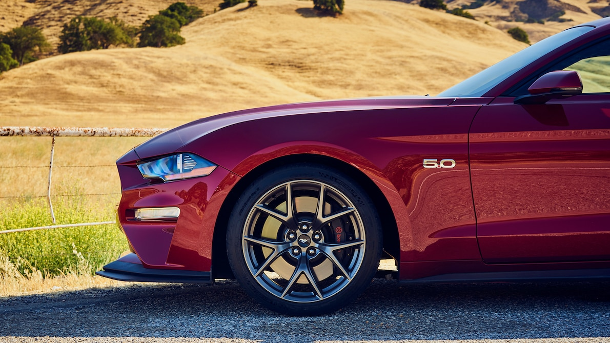 2018 Ford Mustang GT Performance Pack Level 2 Wheel Wallpaper (13)