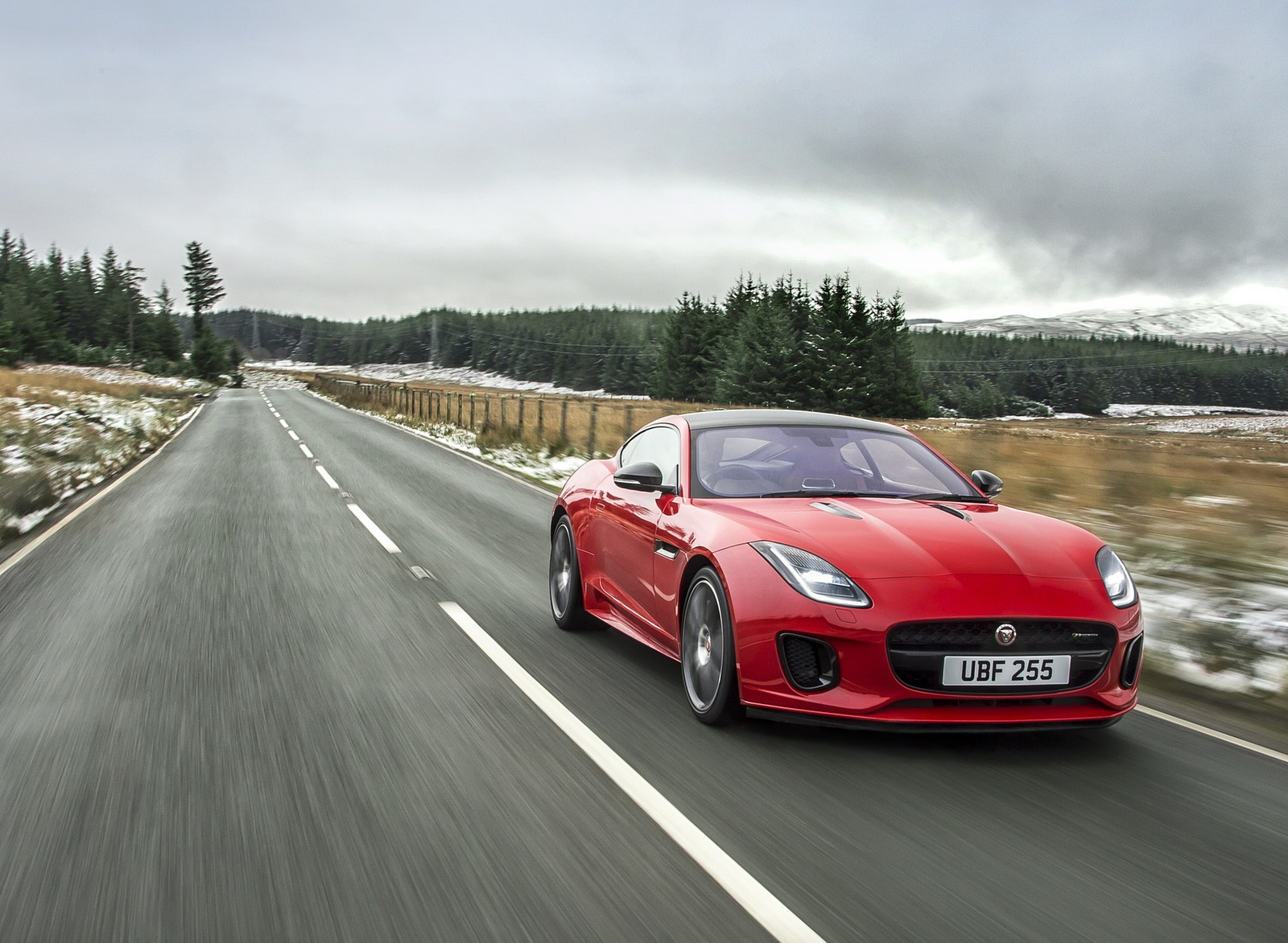 2018 Jaguar F-TYPE 2.0T Front Wallpapers (7)