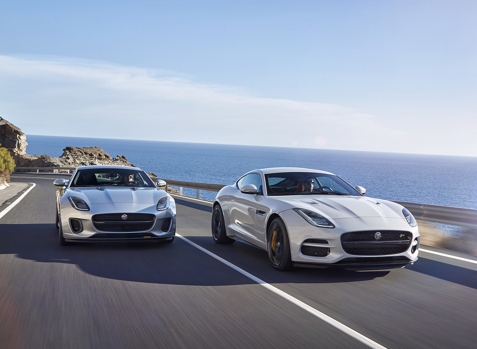 2018 Jaguar F-TYPE R Coupe and 400 SPORT Coupe Wallpapers (12)