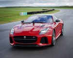 2018 Jaguar F-TYPE SVR Coupe Front Wallpapers 150x120 (2)