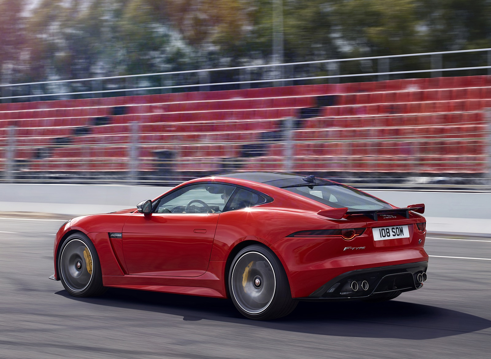 2018 Jaguar F-TYPE SVR Coupe Rear Three-Quarter Wallpapers (7)