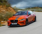 2018 Jaguar XE SV Project 8 Front Three-Quarter Wallpapers 150x120 (18)